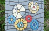 podkładka pod garnek-mozaika artystyczna